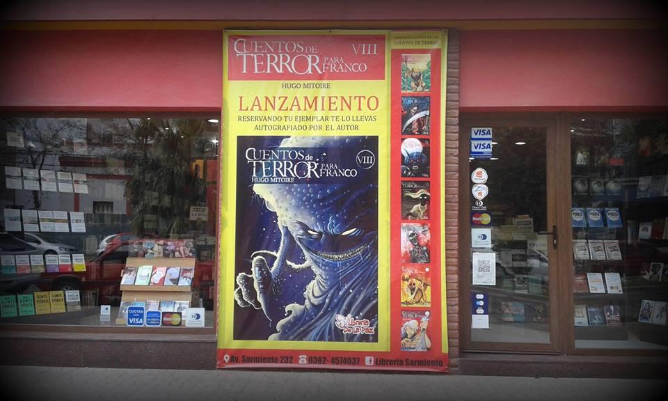 Lanzamiento en Octubre de 2015: CUENTOS DE TERROR PARA FRANCO - Volumen VIII